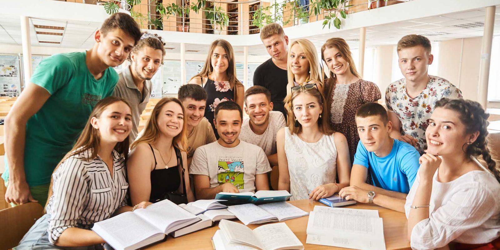 Студенти ТНТУ в бібліотеці